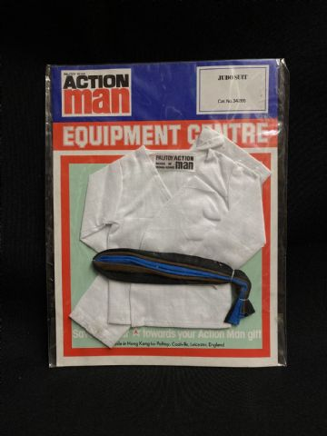 VINTAGE ACTION MAN -  EQUIPMENT CENTRE - JUDO SUIT (4)